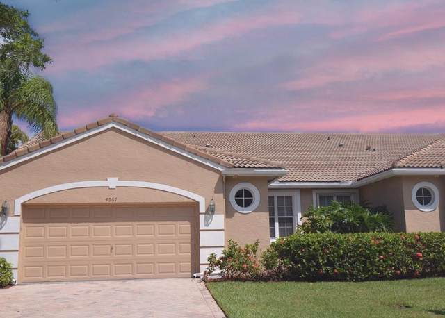 4667 Carlton Golf Drive, Lake Worth, FL 33449 (MLS #RX-10625446) :: Berkshire Hathaway HomeServices EWM Realty
