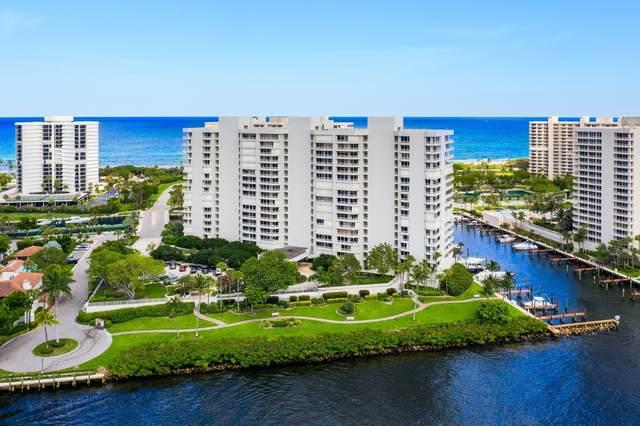 4201 N Ocean Boulevard #1601, Boca Raton, FL 33431 (MLS #RX-10625454) :: Berkshire Hathaway HomeServices EWM Realty