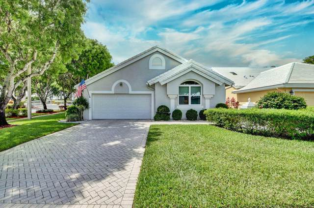 8420 Horseshoe Bay Road, Boynton Beach, FL 33472 (#RX-10625549) :: Dalton Wade