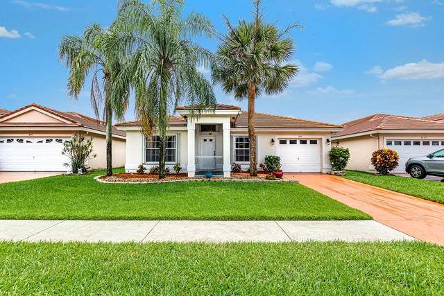 6151 Harbour Greens Drive, Lake Worth, FL 33467 (#RX-10625805) :: Dalton Wade