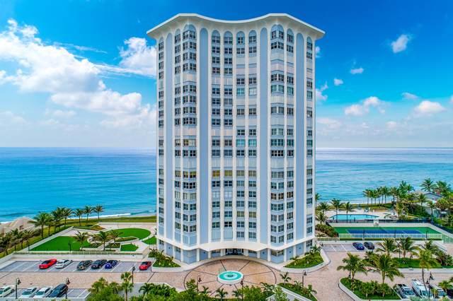 5200 N Ocean Drive #603, Singer Island, FL 33404 (MLS #RX-10625809) :: RE/MAX
