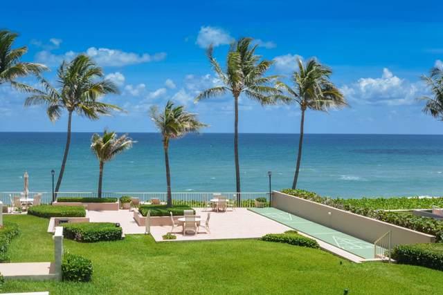 2917 S Ocean Boulevard #205, Highland Beach, FL 33487 (MLS #RX-10625848) :: Laurie Finkelstein Reader Team