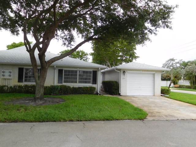 10071 43rd Trail S #321, Boynton Beach, FL 33436 (#RX-10625867) :: Ryan Jennings Group
