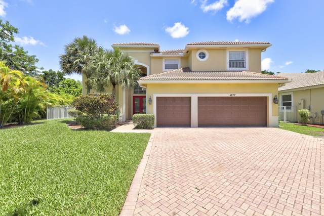 4877 NW 72 Place, Coconut Creek, FL 33073 (#RX-10625870) :: Dalton Wade