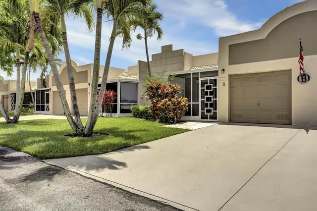 18970 Stewart Circle #2, Boca Raton, FL 33496 (MLS #RX-10626025) :: Berkshire Hathaway HomeServices EWM Realty