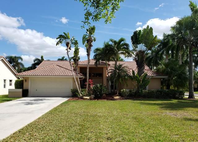 1172 Waterview Lane, Weston, FL 33326 (MLS #RX-10626144) :: The Paiz Group