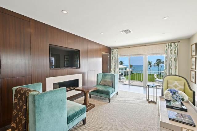 450 S Ocean Boulevard 307B, Manalapan, FL 33462 (MLS #RX-10626246) :: Castelli Real Estate Services