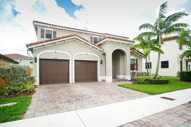17583 SW 155th Court, Miami, FL 33187 (MLS #RX-10626273) :: The Jack Coden Group
