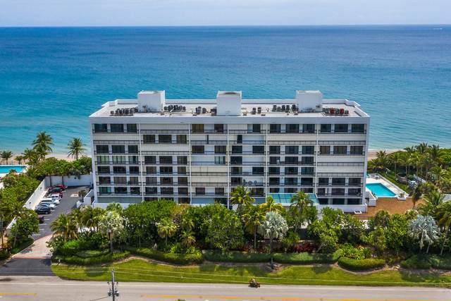 2000 N Ocean Boulevard #405, Boca Raton, FL 33431 (#RX-10626546) :: Posh Properties