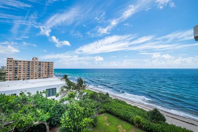 4605 S Ocean Boulevard 7C, Highland Beach, FL 33487 (MLS #RX-10626634) :: Laurie Finkelstein Reader Team