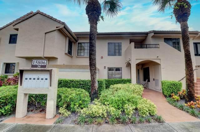 7485 Glendevon Lane #1104, Delray Beach, FL 33446 (MLS #RX-10626681) :: Laurie Finkelstein Reader Team
