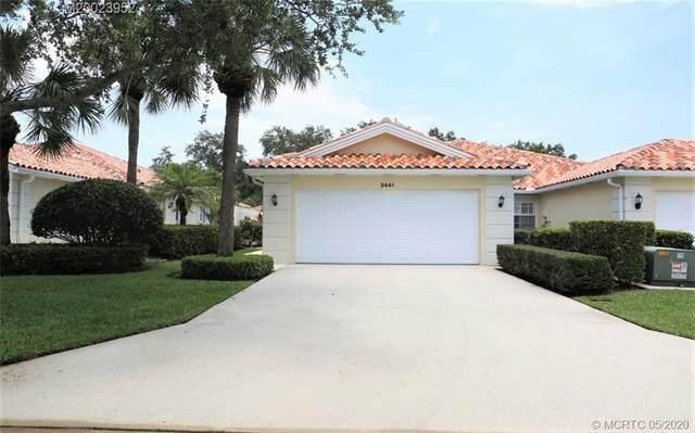 2441 SW Parkside Drive, Palm City, FL 34990 (#RX-10626707) :: Ryan Jennings Group