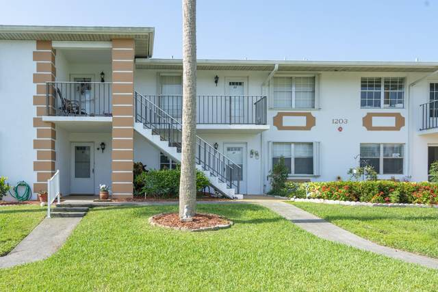 1203 S Lakes End Drive B1, Fort Pierce, FL 34982 (#RX-10626728) :: Posh Properties