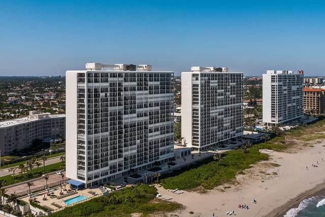 2800 S Ocean Boulevard 18-C, Boca Raton, FL 33432 (#RX-10627226) :: Ryan Jennings Group