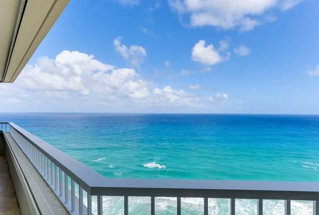 5070 N Ocean Drive 19A, Singer Island, FL 33404 (MLS #RX-10627256) :: Berkshire Hathaway HomeServices EWM Realty