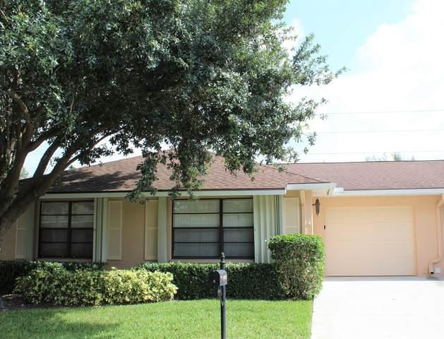 9825 Pecan Tree Drive A, Boynton Beach, FL 33436 (#RX-10627393) :: Dalton Wade