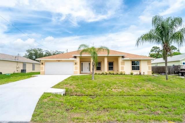 427 SW Lakota Avenue, Port Saint Lucie, FL 34953 (#RX-10627662) :: Ryan Jennings Group
