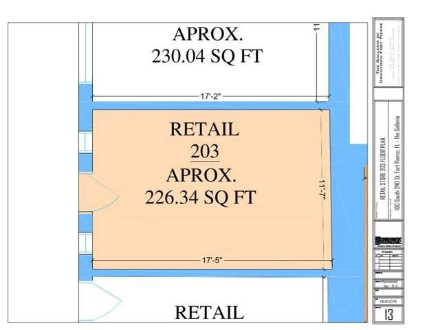 100 S 2nd S Street #202, Fort Pierce, FL 34950 (#RX-10627675) :: Dalton Wade
