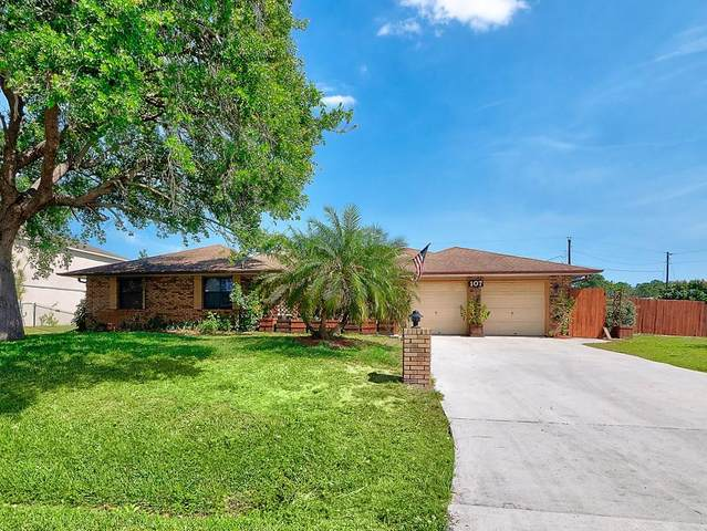 107 NW Friar Street, Port Saint Lucie, FL 34983 (#RX-10627744) :: Ryan Jennings Group
