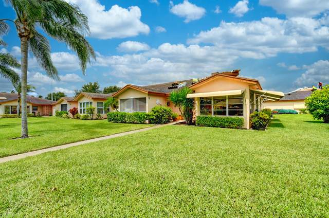 14644 Canalview Drive D, Delray Beach, FL 33484 (MLS #RX-10627792) :: Laurie Finkelstein Reader Team