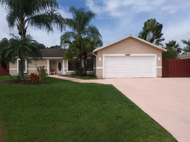 2450 SW Webster Lane, Port Saint Lucie, FL 34953 (MLS #RX-10628036) :: The Paiz Group