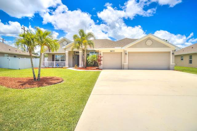 5875 NW Leah Drive, Port Saint Lucie, FL 34986 (MLS #RX-10628071) :: The Paiz Group