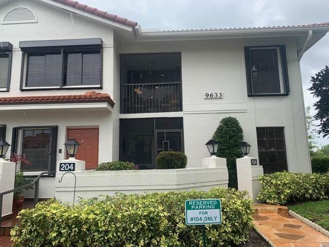 9633 Sills Drive E #204, Boynton Beach, FL 33437 (MLS #RX-10628116) :: The Paiz Group