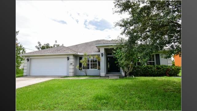 336 SW Ridgecrest Drive, Port Saint Lucie, FL 34953 (#RX-10628413) :: The Reynolds Team/ONE Sotheby's International Realty