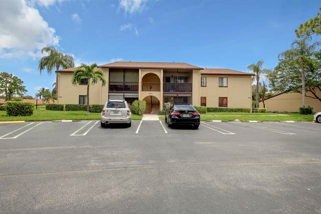 602 Sea Pine Way D1, Greenacres, FL 33415 (MLS #RX-10629218) :: Berkshire Hathaway HomeServices EWM Realty