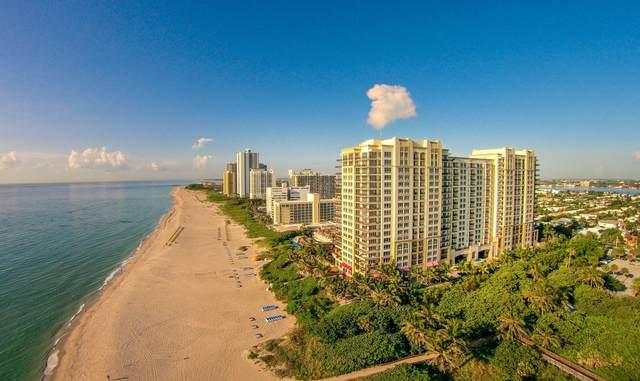 3800 N Ocean Drive #1410, Singer Island, FL 33404 (MLS #RX-10629624) :: Miami Villa Group