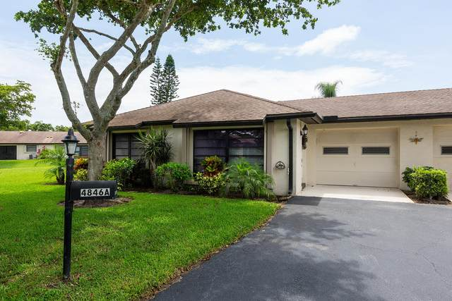 4846 Equestrian Road A, Boynton Beach, FL 33436 (#RX-10630070) :: Ryan Jennings Group