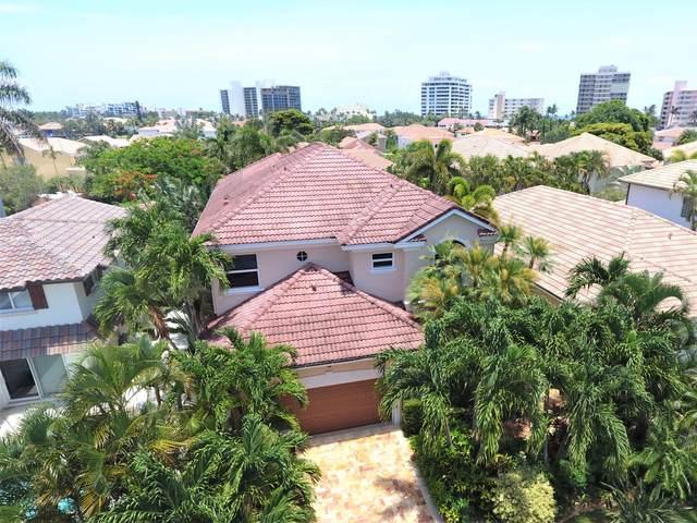 3539 Commodore Circle, Delray Beach, FL 33483 (MLS #RX-10630079) :: Berkshire Hathaway HomeServices EWM Realty