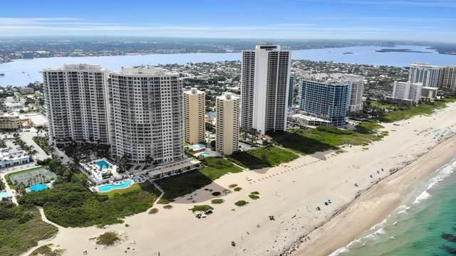 2700 N Ocean Drive 206B, Singer Island, FL 33404 (MLS #RX-10630333) :: Berkshire Hathaway HomeServices EWM Realty