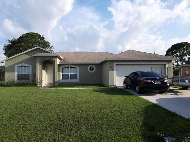 450 SW Exmore Avenue, Port Saint Lucie, FL 34983 (#RX-10630496) :: The Reynolds Team/ONE Sotheby's International Realty