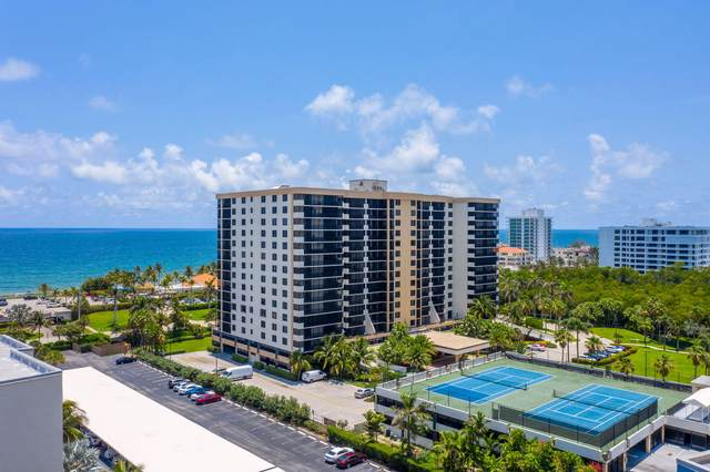 3400 S Ocean Boulevard 6B, Highland Beach, FL 33487 (#RX-10630649) :: Posh Properties