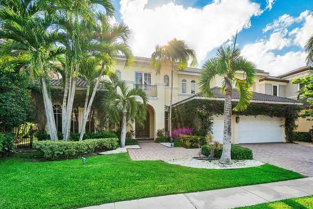 17593 Middle Lake Drive, Boca Raton, FL 33496 (MLS #RX-10630653) :: Berkshire Hathaway HomeServices EWM Realty