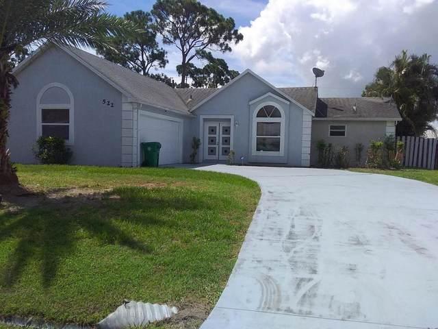 522 SE Volkerts Terrace, Port Saint Lucie, FL 34983 (MLS #RX-10630865) :: Berkshire Hathaway HomeServices EWM Realty