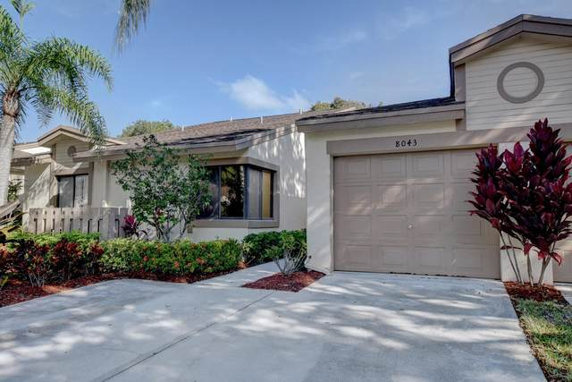 8043 Hiddenview Terrace G, Boca Raton, FL 33496 (MLS #RX-10630962) :: Berkshire Hathaway HomeServices EWM Realty