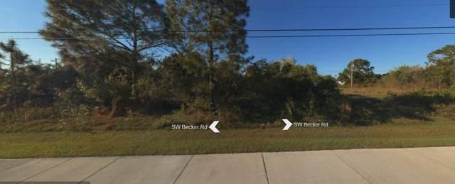 1349 SW Becker Road, Port Saint Lucie, FL 34953 (MLS #RX-10631300) :: Berkshire Hathaway HomeServices EWM Realty