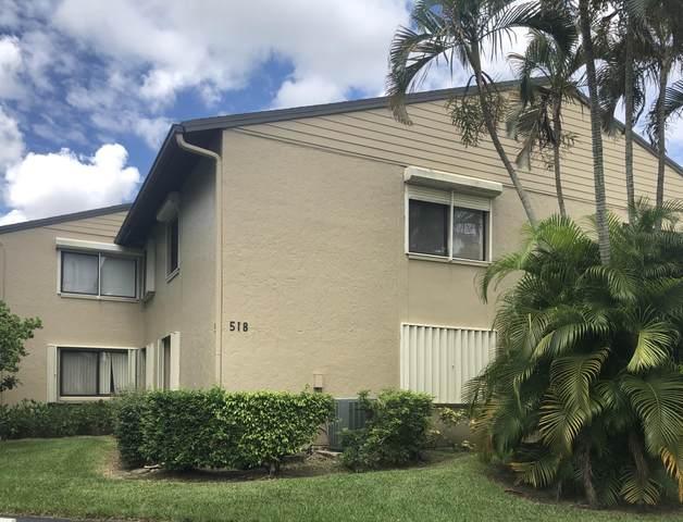 518 Shady Pine Way B1, Greenacres, FL 33415 (MLS #RX-10631782) :: Berkshire Hathaway HomeServices EWM Realty