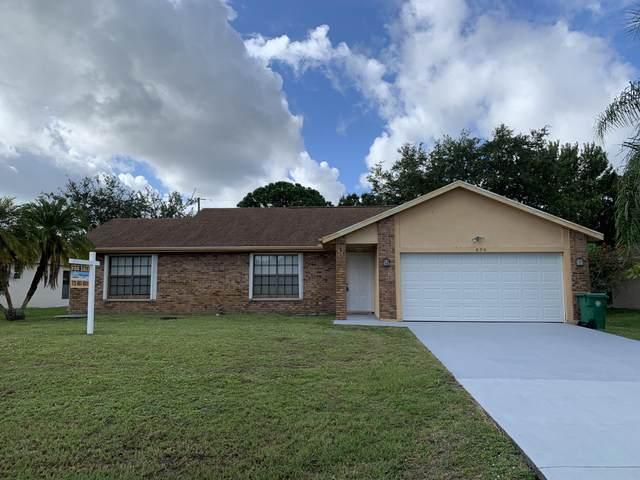 826 SW General Patton Terrace, Port Saint Lucie, FL 34953 (#RX-10631872) :: Ryan Jennings Group