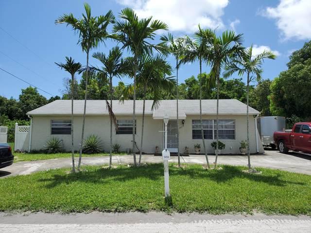 5450 Jeffery Avenue, West Palm Beach, FL 33407 (#RX-10631877) :: Ryan Jennings Group