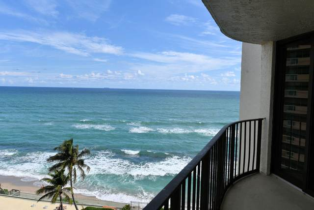 5420 N Ocean Drive #905, Riviera Beach, FL 33404 (MLS #RX-10632019) :: Berkshire Hathaway HomeServices EWM Realty
