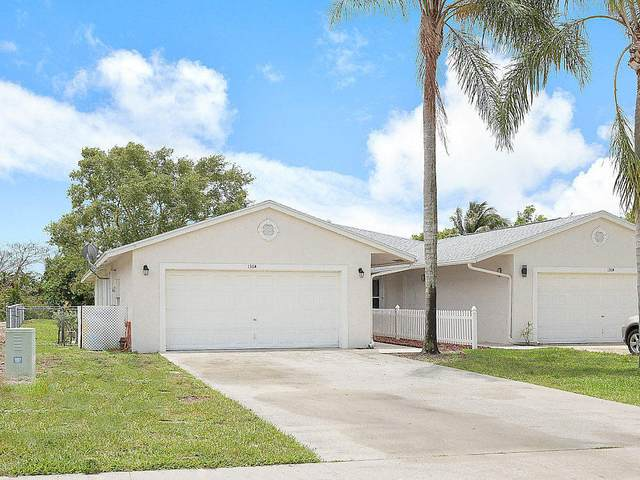 136 Sparrow Drive A, Royal Palm Beach, FL 33411 (#RX-10632535) :: Ryan Jennings Group