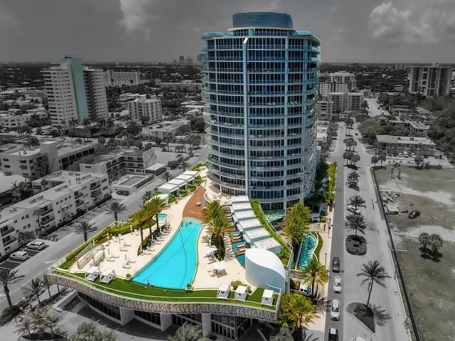 701 N Fort Lauderdale Boulevard #1502, Fort Lauderdale, FL 33304 (MLS #RX-10633064) :: Berkshire Hathaway HomeServices EWM Realty