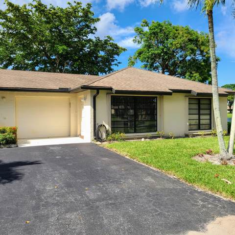 4832 Equestrian Circle B, Boynton Beach, FL 33436 (#RX-10633292) :: Ryan Jennings Group
