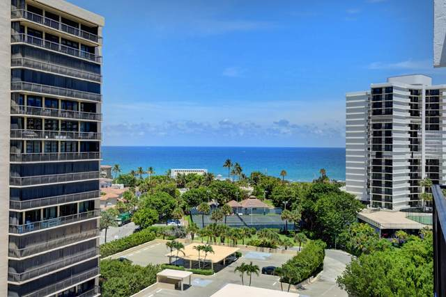 4750 S Ocean Boulevard Ph11, Highland Beach, FL 33487 (#RX-10633443) :: Posh Properties