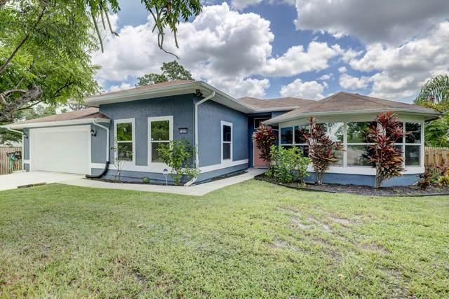 1201 SW Broadview Street, Port Saint Lucie, FL 34983 (#RX-10633591) :: Ryan Jennings Group