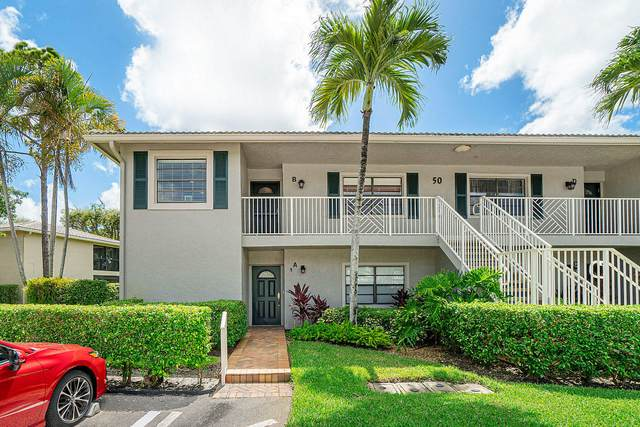 50 Stratford Lane W B, Boynton Beach, FL 33436 (#RX-10634248) :: Ryan Jennings Group