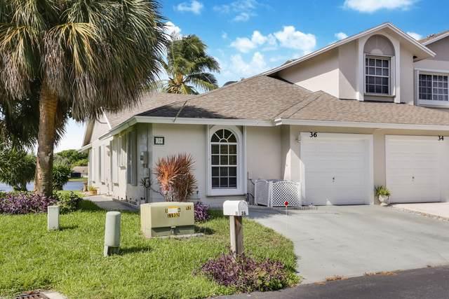 36 Desford Lane, Boynton Beach, FL 33426 (#RX-10634341) :: Ryan Jennings Group
